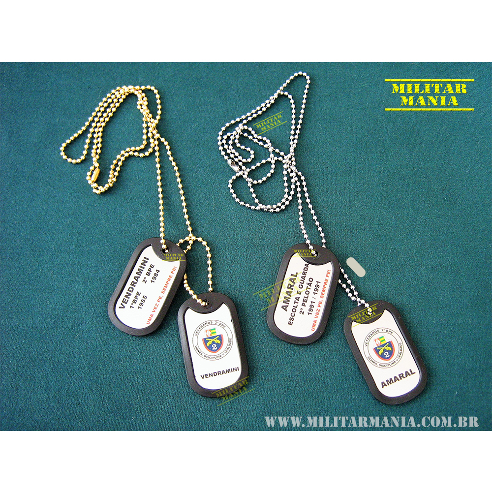 Dog Tag veteranos policia