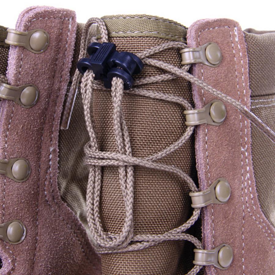 Presilha Prendedor Trava de Cadarço para Tênis Bota Coturno Sapatos Mochilas Jaquetas e afins